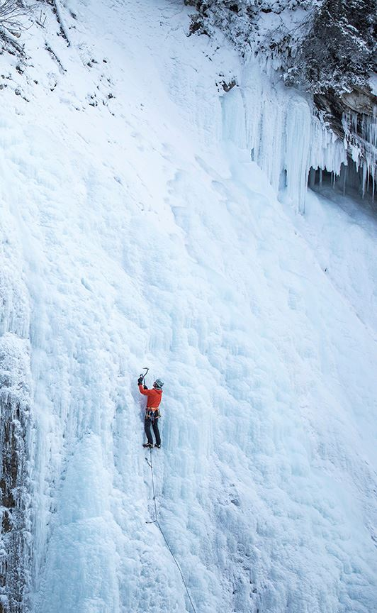 Ice Climbing Highlight