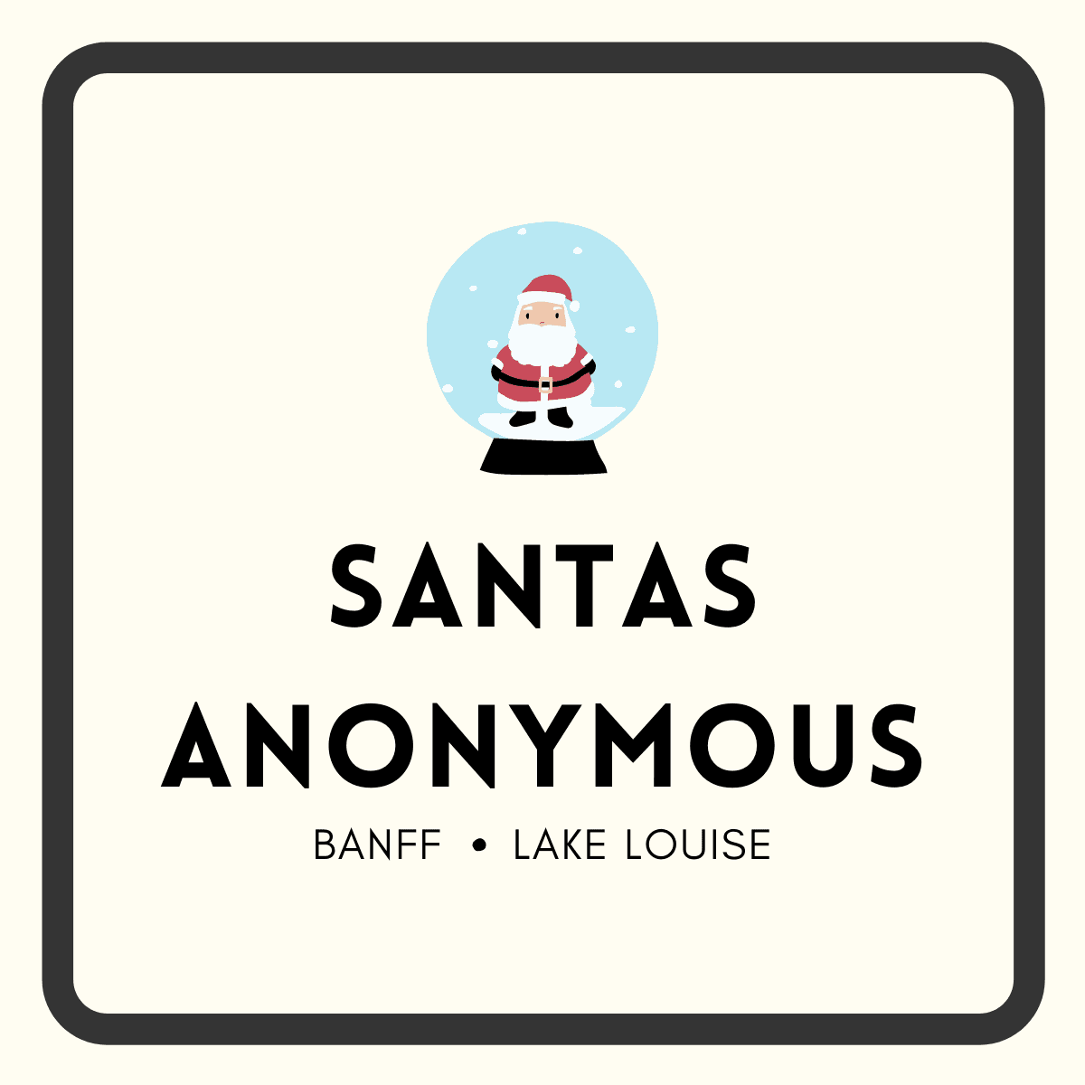 Santas logo with border