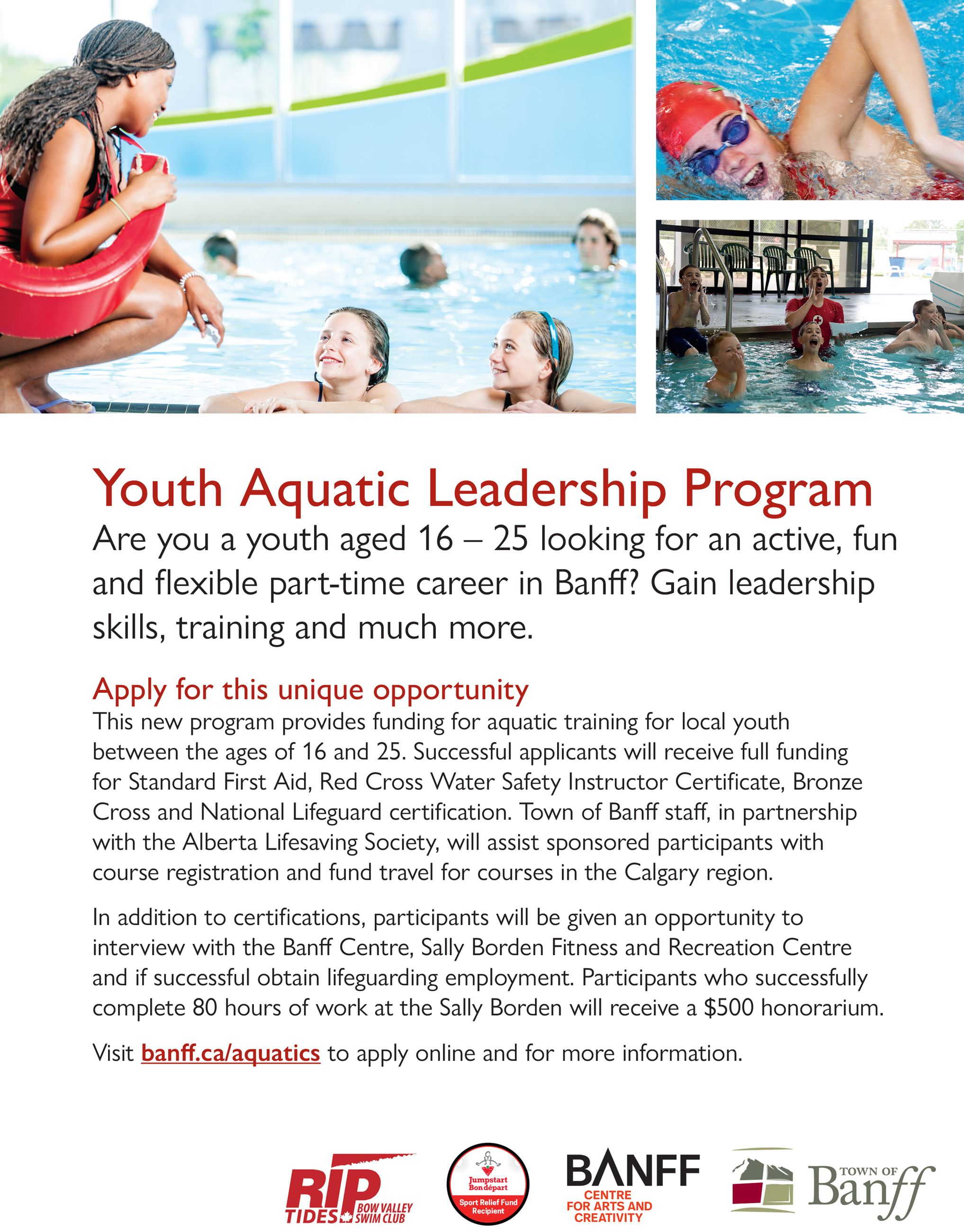 Youth Aquatic Leadership Program