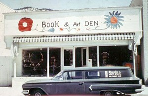 The Banff Book and Art Den circa 1973