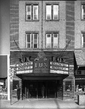 The Lux Theatre, Banff Avenue, circa 1980