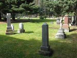 The Old Banff Cemetery