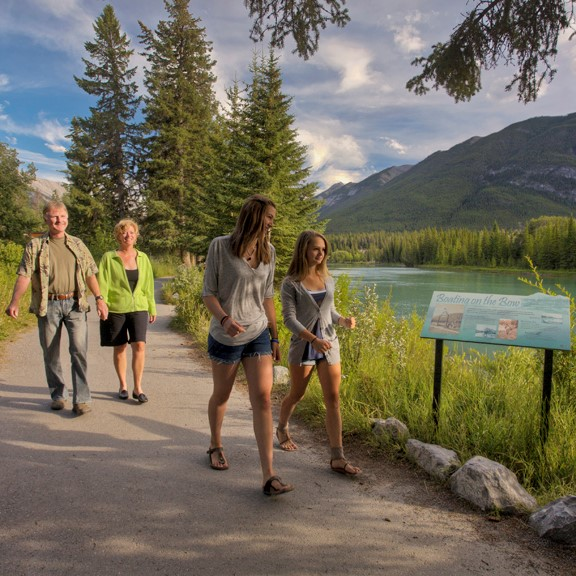 Bow River Trail - Trail Network