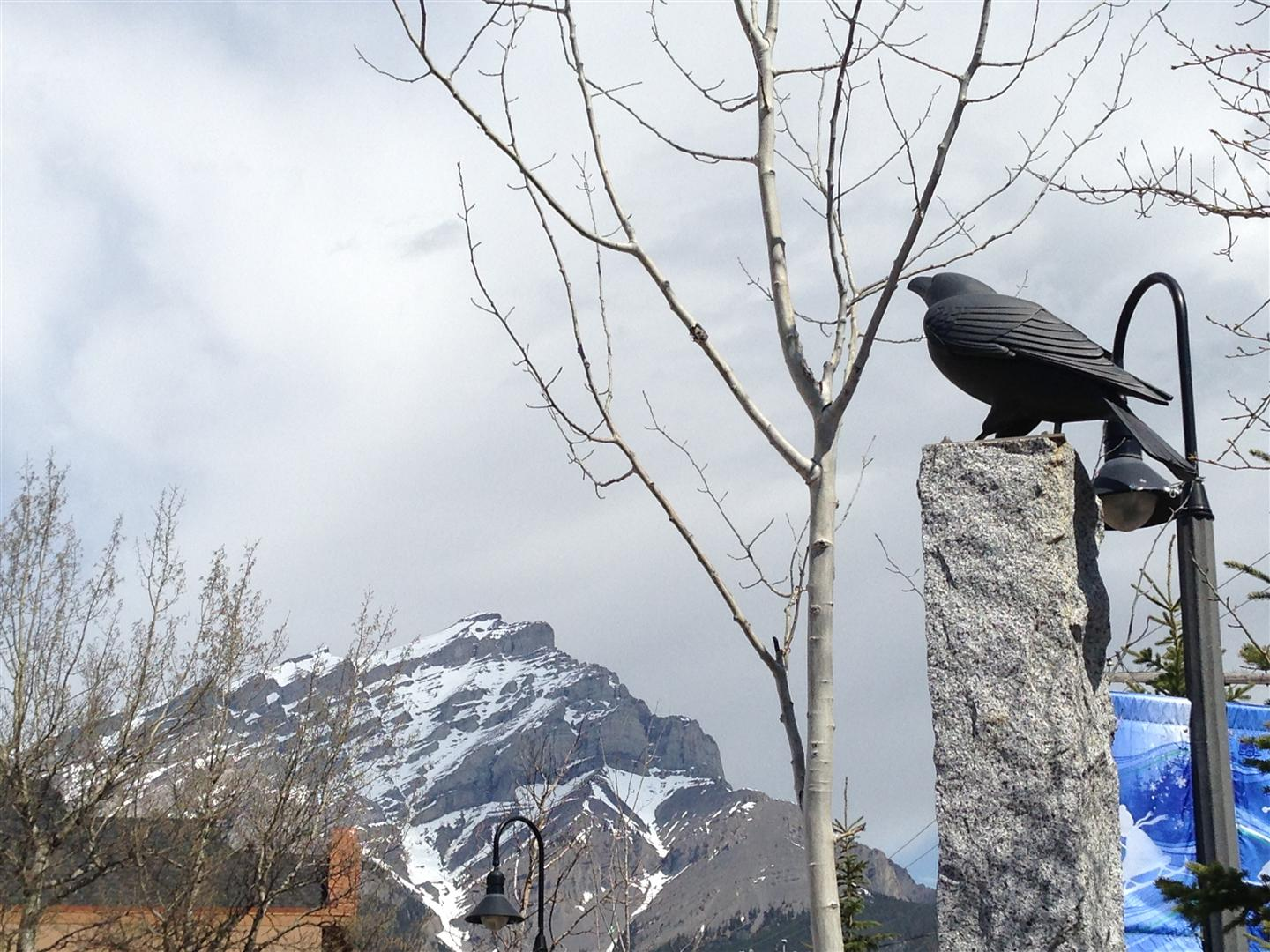 Four Ravens Sculpture