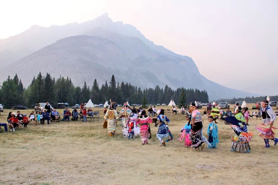 Nakoda Banff Indian Days Photo by Michelle Macullo