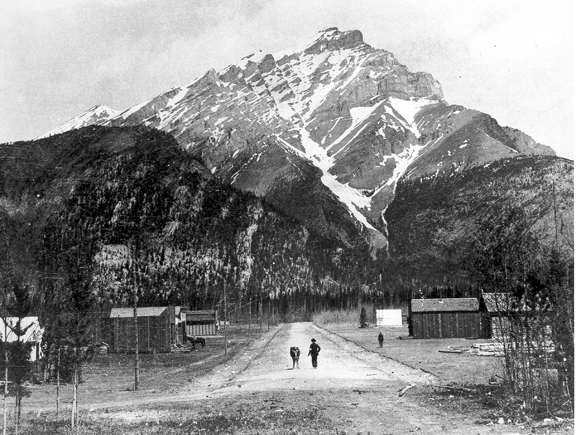 Banff Ave in 1887