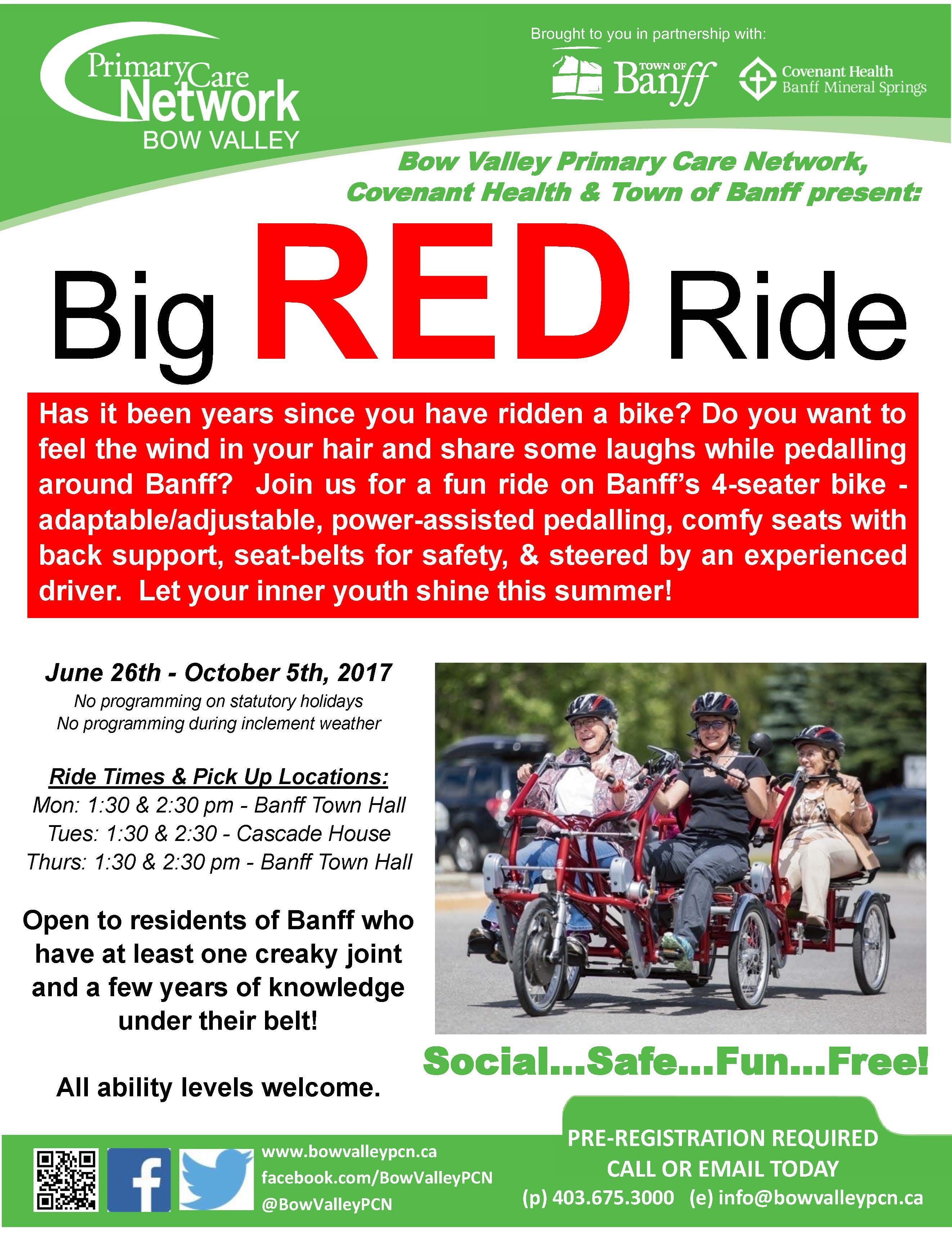 Big RED Ride
