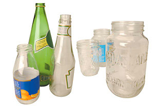 Dispose Glass Bottles