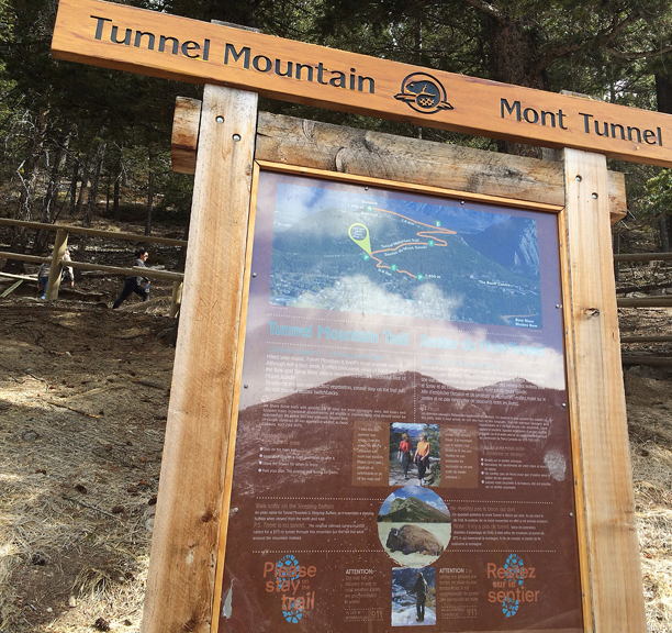 Tunnel Mountain Trailhead