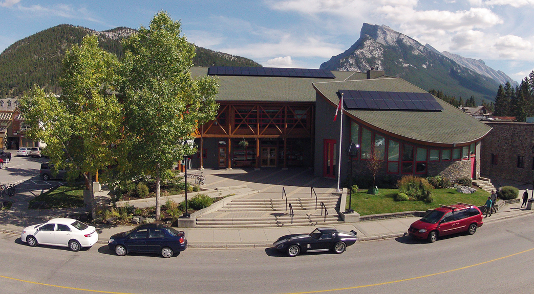Banff Town Hall's Solar Panels