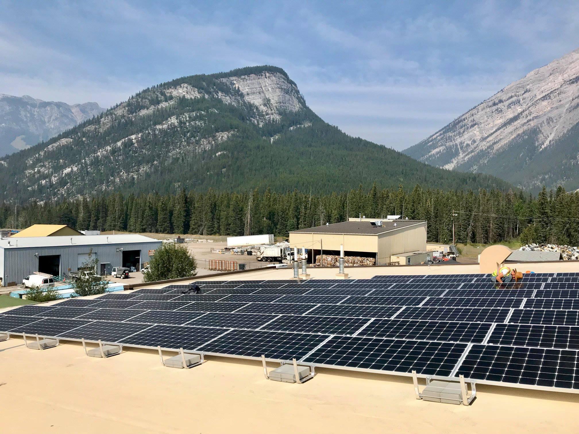 Banff Ab Official Website Solar Power Panel Design Guidelines Transit Fleet Building