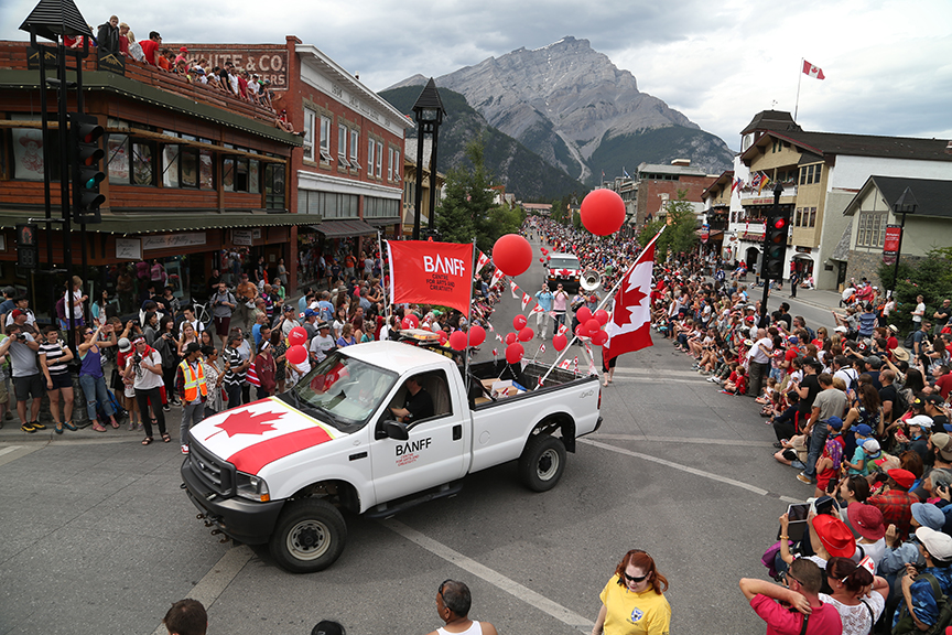 Banff Ab Official Website Canada Day